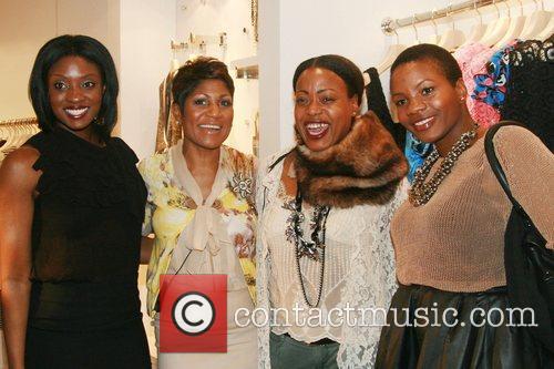 Journalist Lola Ogunnaike, Jocelyn Taylor, Tracy Reese and...