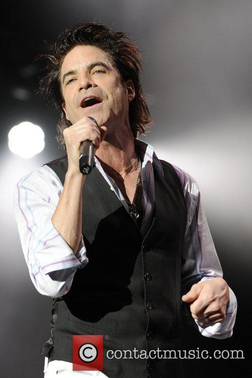 Train performing live at the Molson Canadian Amphitheatre.