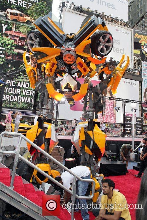 New York premiere of 'Transformers: Dark Side Of...