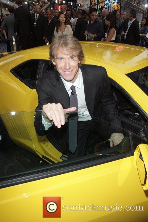 Michael Bay  New York premiere of 'Transformers:...
