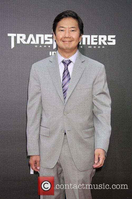 Ken Jeong New York premiere of 'Transformers: Dark...