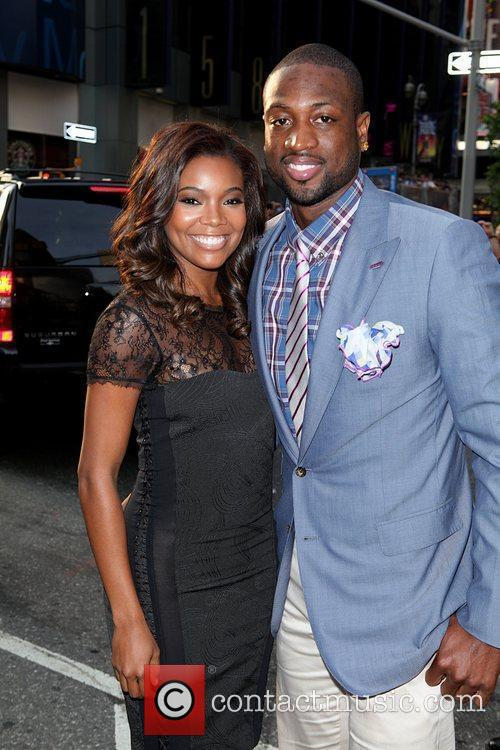 Gabrielle Union and Dwyane Wade New York premiere...