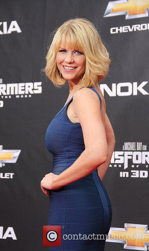 Attends the New York premiere of 'Transformers: Dark...
