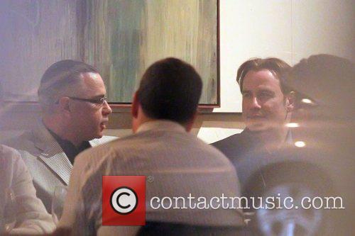 John Travolta and John Gotti Jr at the...