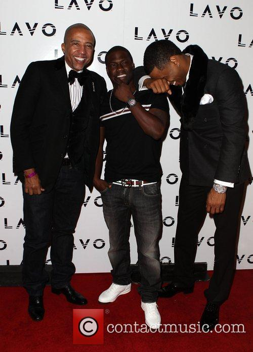 Trey Songz Celebrates His Birthday at LAVO Nightclub...