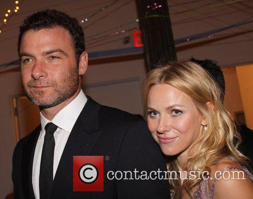 Liev Schreiber and Naomi Watts attend the Tribeca...
