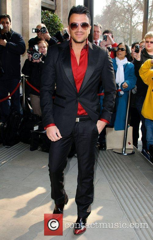 Peter Andre  'TRIC Awards' at the Grosvenor...