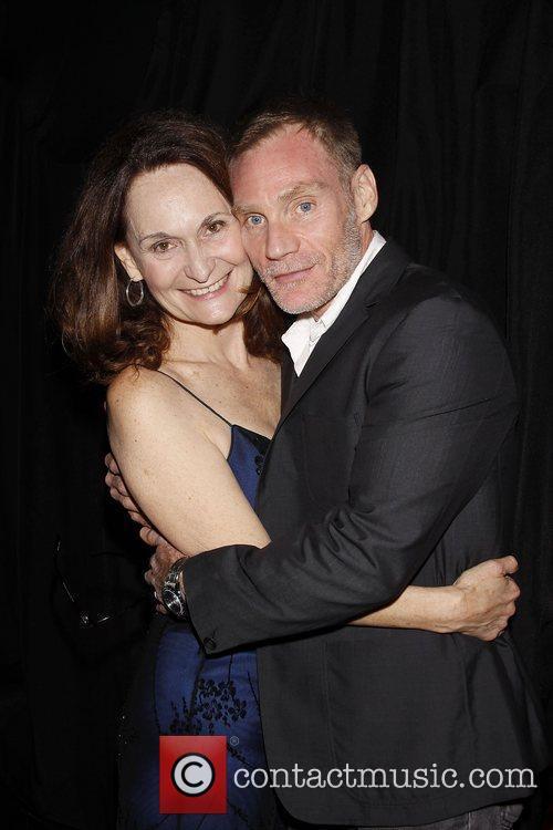 Beth Grant and Peter Bradbury  Opening night...