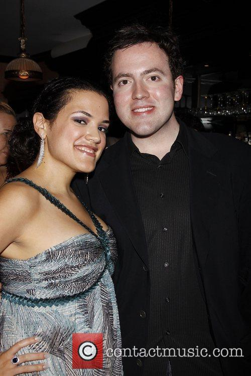 Desiree Rodriguez and Tony Georges  Opening night...