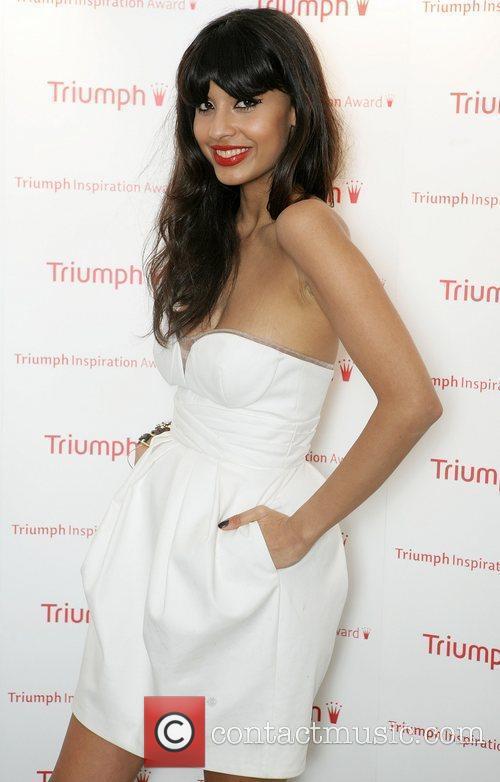 Jameela Jamil arriving at the Triumph Inspiration Awards...