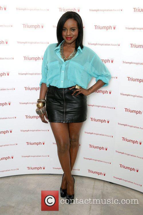 Keisha Buchan arriving at the Triumph Inspiration Awards...