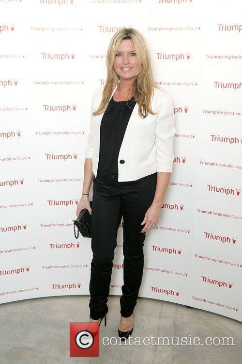 Tina Hobley arriving at the Triumph Inspiration Awards...