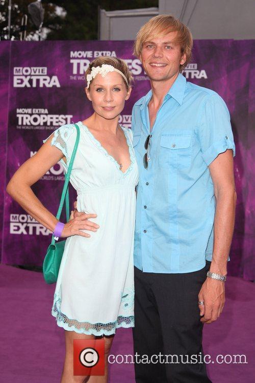 Gigi Edgley and Jamey Mossengren The 2011 Tropfest...