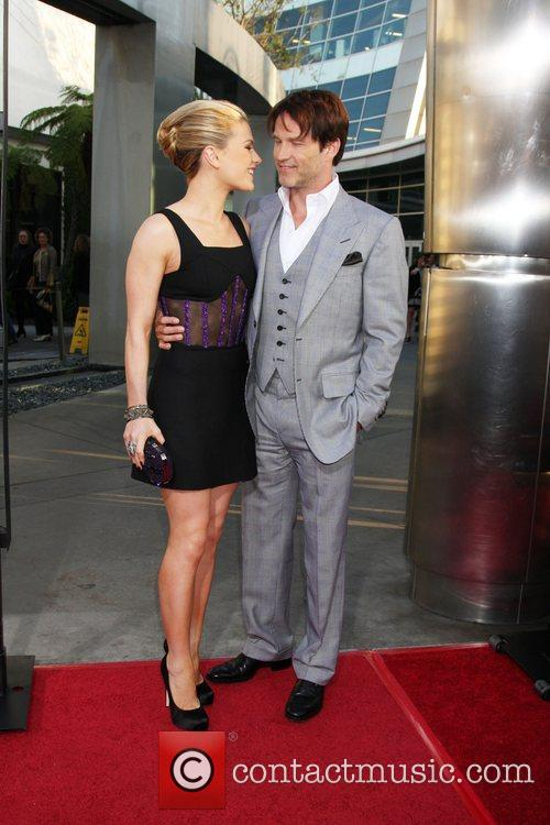 Anna Paquin, Stephen Moyer  HBO's True Blood...