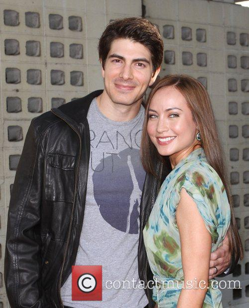 Brandon Routh and Courtney Ford 10