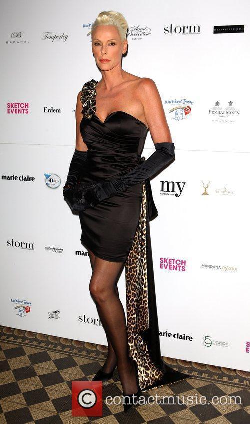 Brigitte Nielsen Trust in Fashion, a charity fashion...