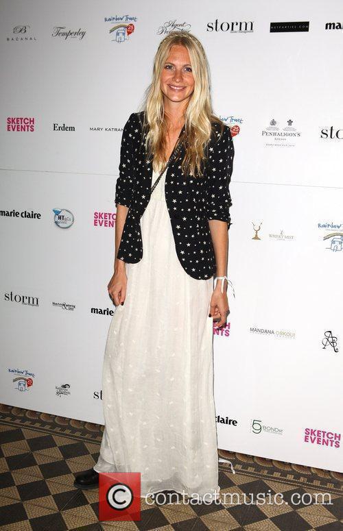 Poppy Delevigne Trust in Fashion, a charity fashion...