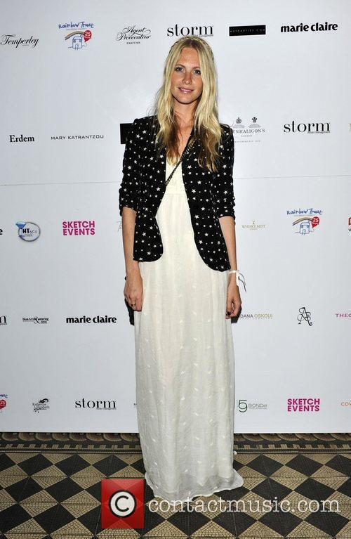Poppy Delevinge Trust in Fashion, a charity fashion...