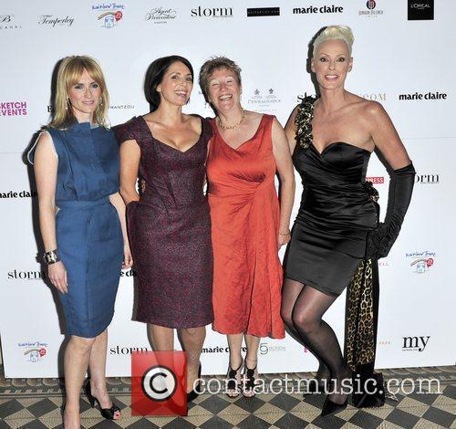 Sadie Frost, Trish Halpin & Brigette Nielsen...