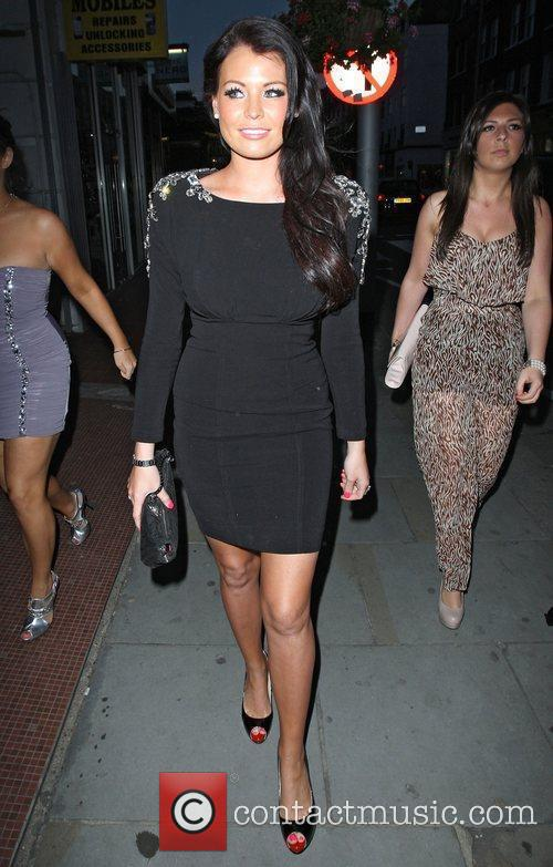 Jessica Wright,  at the Sophy Robson Salon...