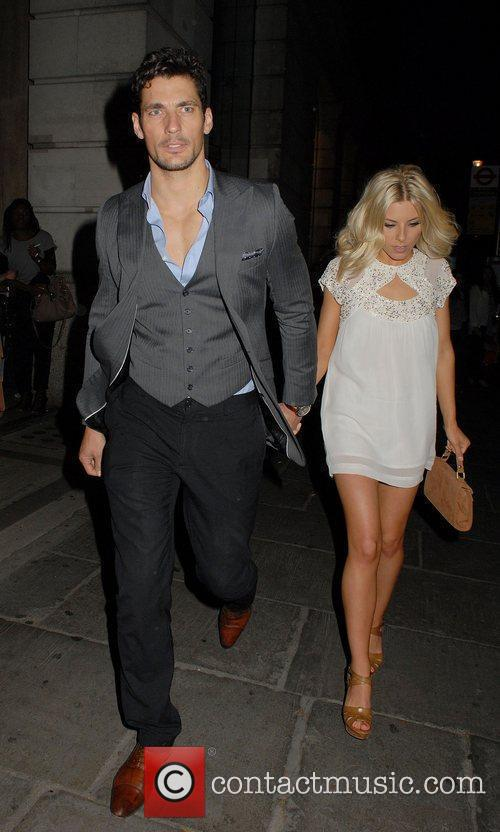 David Gandy and Mollie King 7