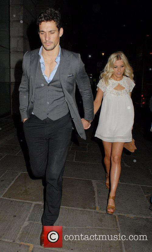 David Gandy and Mollie King 5