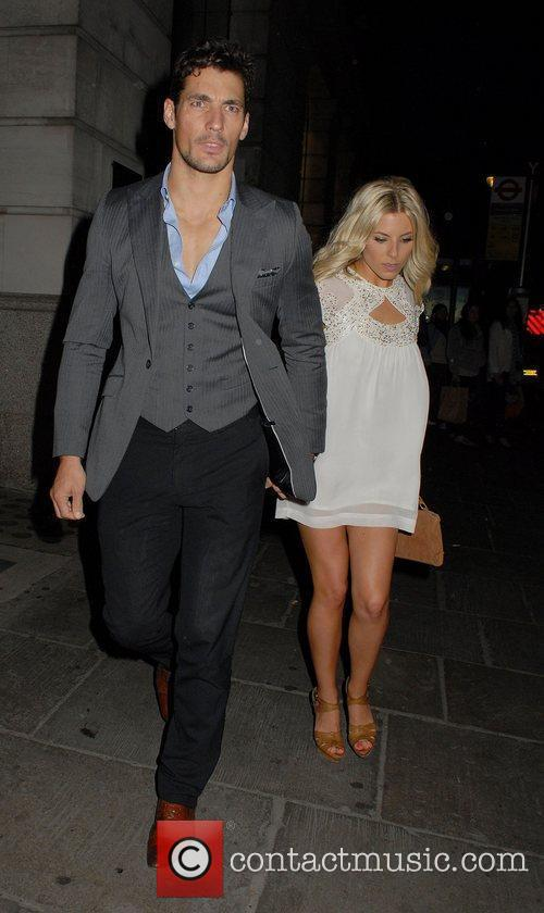 David Gandy and Mollie King 6