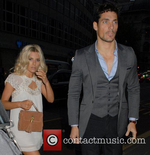 Mollie King and David Gandy 2