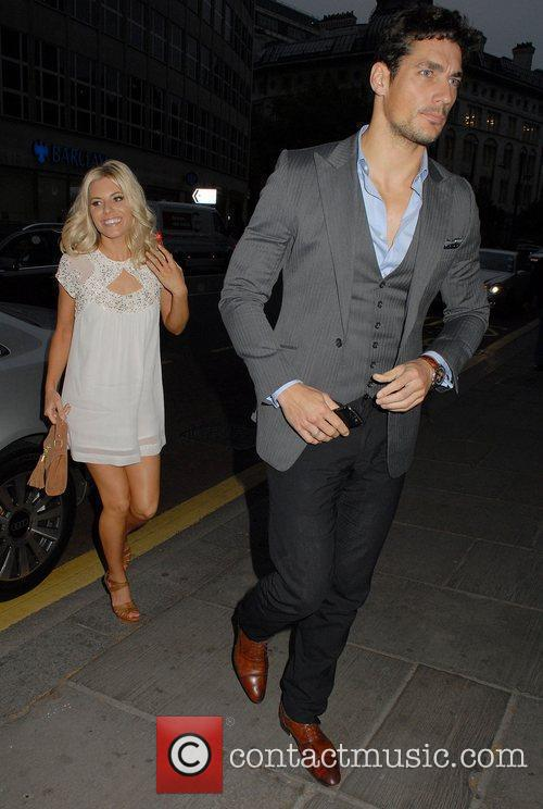 Mollie King and David Gandy 3