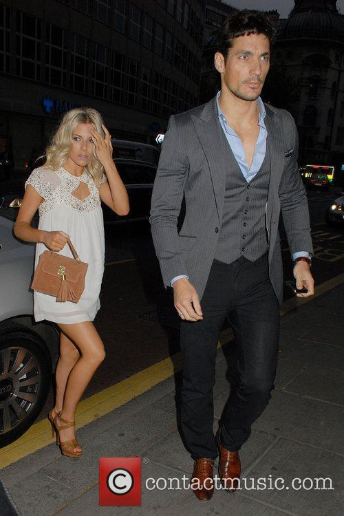 Mollie King and David Gandy 1