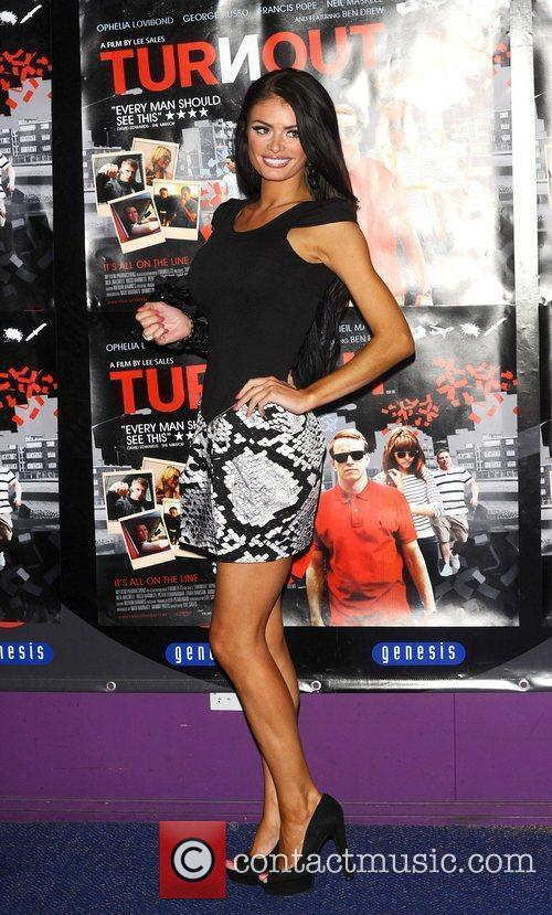 Chloe Simms at the UK film premiere 'Turnout'...