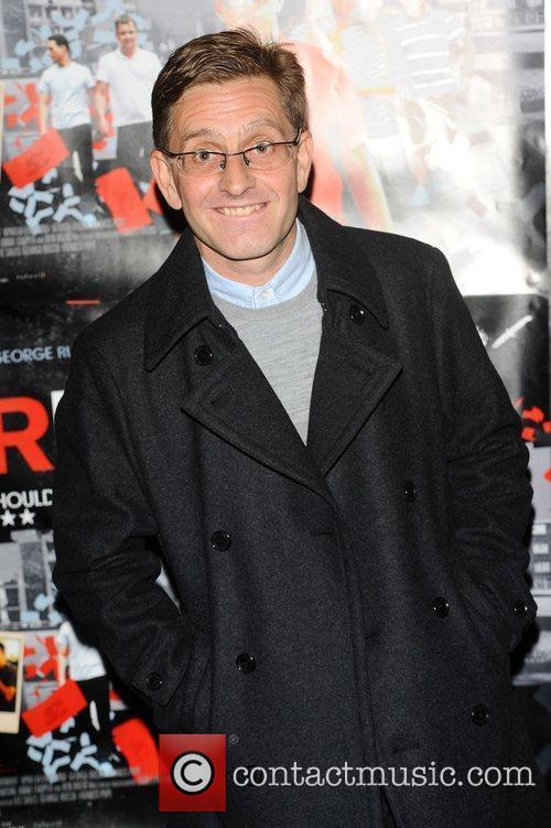 Lee Sales (Director) at the UK film premiere...