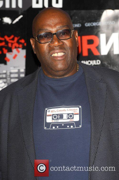Cass Pennant at the UK film premiere 'Turnout'...