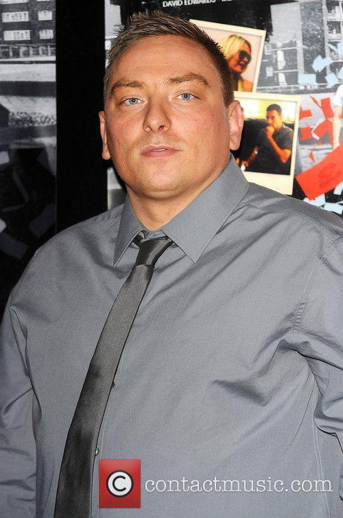 Neil Large at the UK film premiere 'Turnout'...