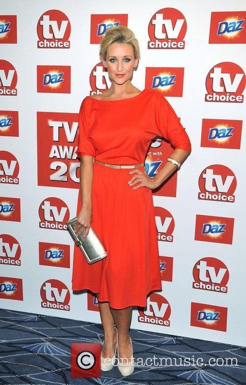 Catherine Tyldesley TVChoice Awards held at the Savoy...