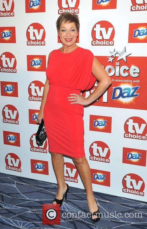 Denise Welch TVChoice Awards held at the Savoy...