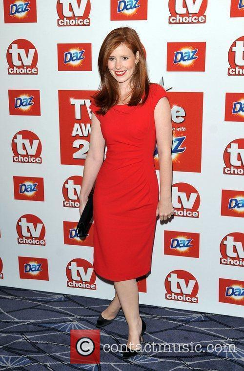 Amy Nuttall TVChoice Awards held at the Savoy...