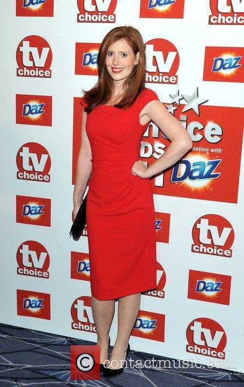 Amy Nutall TVChoice Awards held at the Savoy...