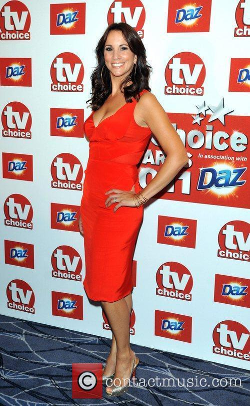 Andrea McLean TVChoice Awards held at the Savoy...