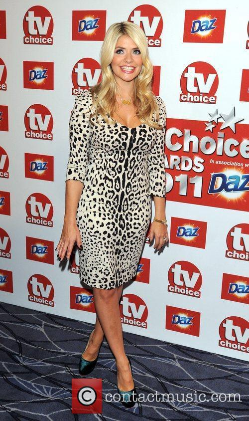 Holly Willoughby TVChoice Awards held at the Savoy...