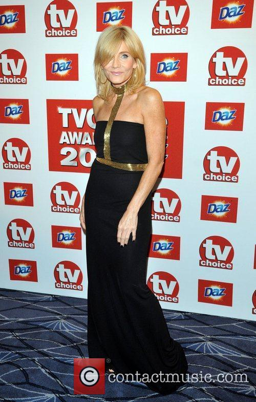 Michelle Collins TVChoice Awards held at the Savoy...