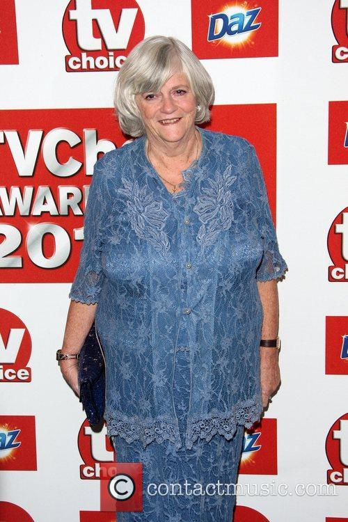 Anne Widdecombe TVChoice Awards 2011 held at the...