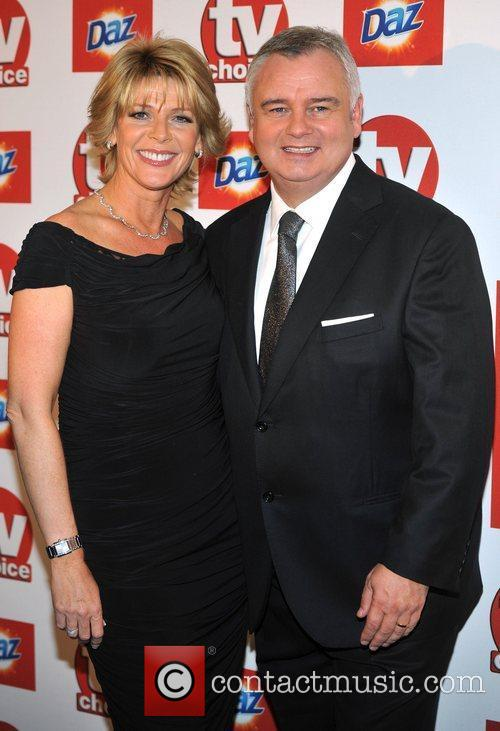 Eamonn Holmes and guest TVChoice Awards held at...