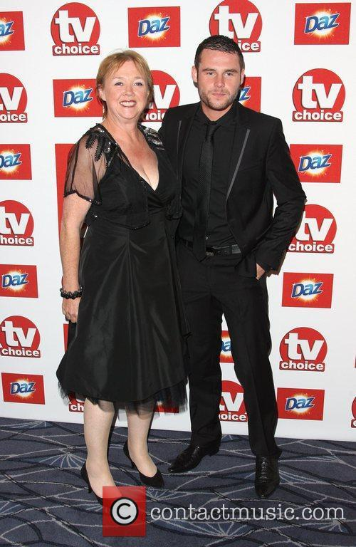 Pauline Quirke and Danny Miller TVChoice Awards 2011...