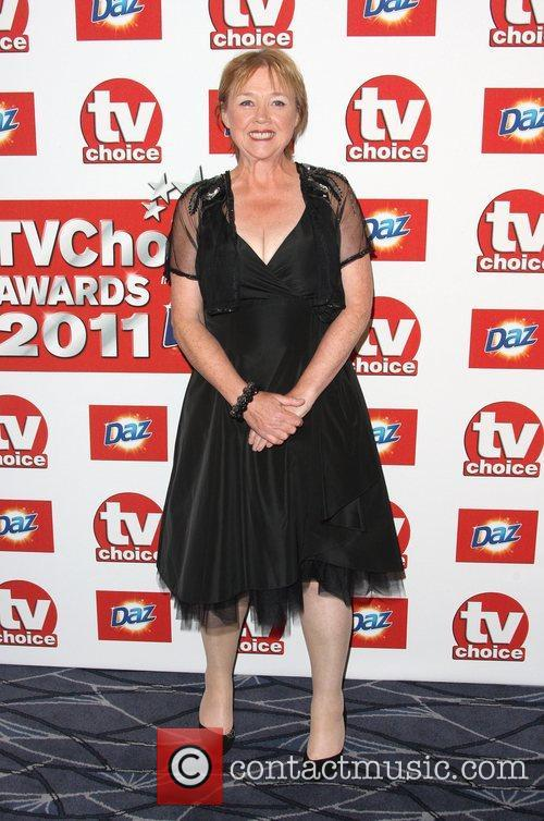 Pauline Quirke TVChoice Awards 2011 held at the...