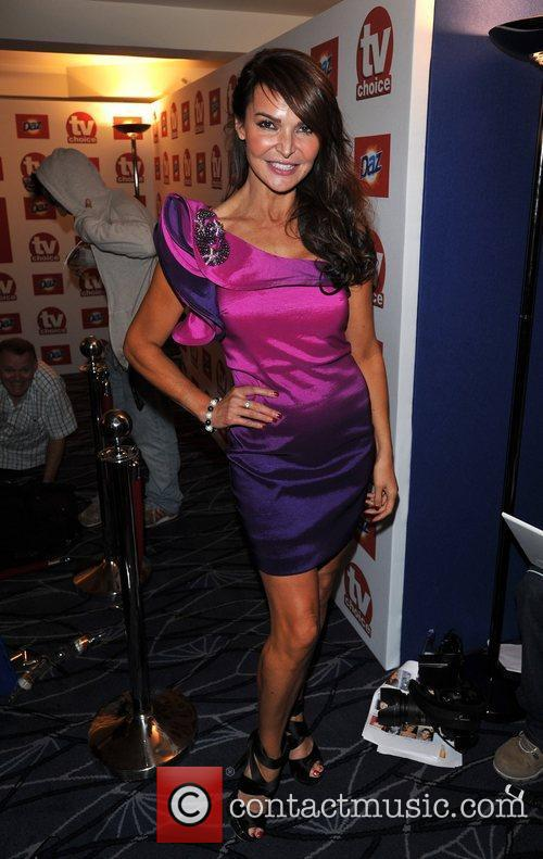 Lizzy Cundie TVChoice Awards held at the Savoy...