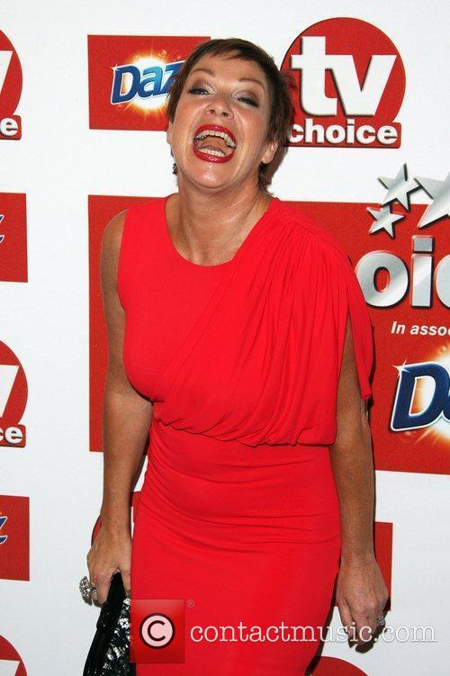 Denise Welch TVChoice Awards 2011 held at the...