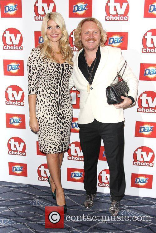 Holly Willoughby and Leigh Francis 8