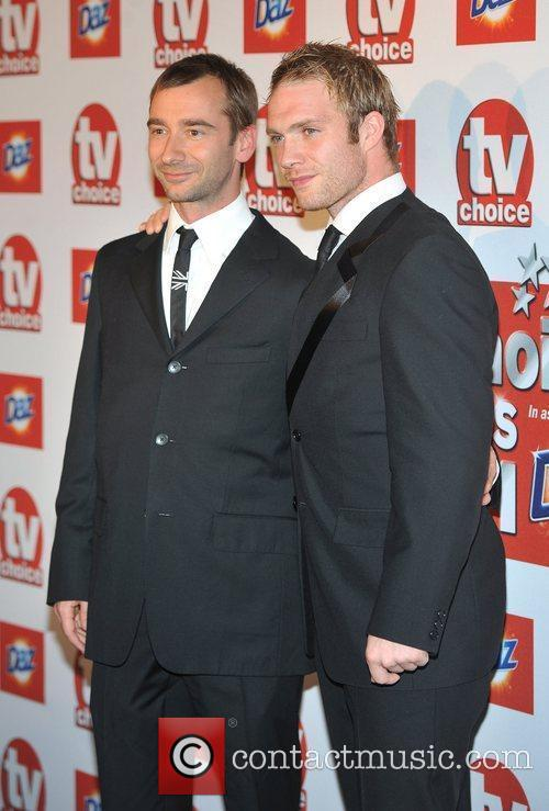 Guests TVChoice Awards held at the Savoy Hotel....