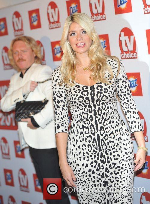 Frances Leigh and Holly Willoughby TVChoice Awards held...